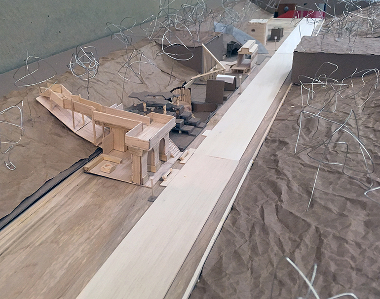 Model of a design project